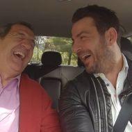 Γιώργος Αγγελόπουλος και Κώστας Στεφανής στην εκπομπή Traction - Φωτογραφία: traction.gr IG