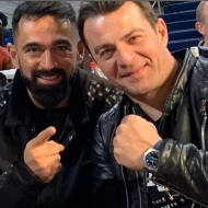 Ο Γιώργος μαζί με τον Μπο στο Komodo 2 - 15 Φεβρουαρίου 2020 Φωτογραφία: tsalikisgiorgos Instagram