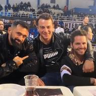 Ο Γιώργος μαζί με τον Μπο και τον Γιώργο Τσαλίκη στο Komodo 2 - 15 Φεβρουαρίου 2020 Φωτογραφία: tsalikisgiorgos Instagram