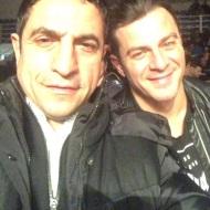 Ο Γιώργος μαζί με τον Κώστα Γάτση στο Komodo 2 - 15 Φεβρουαρίου 2020 Φωτογραφία: vizantinos_target_sport_club Instagram