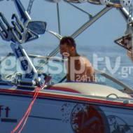 Ο Γιώργος στη Σκιάθο - Καλοκαίρι 2020 Φωτογραφία: Gossip TV