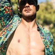 Ο Γιώργος στη φωτογράφιση για το περιοδικό Down Town Κύπρου που κυκλοφόρησε στις 8 Αυγούστου 2020 Φωτογραφίες: Πάνος Γιαννακόπουλος