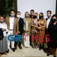 Εγκαίνια ειδικού χώρου υποδοχής και φιλοξενίας ανηλίκων στο Δικαστικό Μέγαρο Θεσσαλονίκης, που έγιναν παρουσία της συζύγου του Πρωθυπουργού, κυρίας Μαρέβας Μητσοτάκη - 5 Οκτωβρίου 2020 Φωτογραφία: grtimes.gr