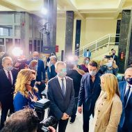 Εγκαίνια ειδικού χώρου υποδοχής και φιλοξενίας ανηλίκων στο Δικαστικό Μέγαρο Θεσσαλονίκης, που έγιναν παρουσία της συζύγου του Πρωθυπουργού, κυρίας Μαρέβας Μητσοτάκη - 5 Οκτωβρίου 2020 Φωτογραφία: mariav.antoniou IG