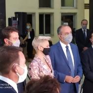 Εγκαίνια ειδικού χώρου υποδοχής και φιλοξενίας ανηλίκων στο Δικαστικό Μέγαρο Θεσσαλονίκης, που έγιναν παρουσία της συζύγου του Πρωθυπουργού, κυρίας Μαρέβας Μητσοτάκη - 5 Οκτωβρίου 2020 Φωτογραφία: seleo.gr