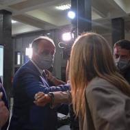 Εγκαίνια ειδικού χώρου υποδοχής και φιλοξενίας ανηλίκων στο Δικαστικό Μέγαρο Θεσσαλονίκης, που έγιναν παρουσία της συζύγου του Πρωθυπουργού, κυρίας Μαρέβας Μητσοτάκη - 5 Οκτωβρίου 2020 Φωτογραφία: theodoros_karaoglou IG