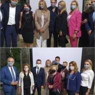 Εγκαίνια ειδικού χώρου υποδοχής και φιλοξενίας ανηλίκων στο Δικαστικό Μέγαρο Θεσσαλονίκης, που έγιναν παρουσία της συζύγου του Πρωθυπουργού, κυρίας Μαρέβας Μητσοτάκη - 5 Οκτωβρίου 2020 Φωτογραφία: vassoskg IG
