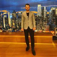 """Ο Γιώργος στην εκπομπή """"The2night Show"""" η οποία μεταδόθηκε στις 25 Φεβρουαρίου 2020 Φωτογραφία: official_danos_ga IG"""