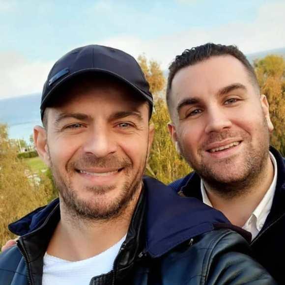 Ο Γιώργος μαζί με τον αντιδήμαρχο Ρόδου, Τηλέμαχο Καμπούρη - 25 Απριλίου 2021 Φωτογραφία: tilemachoskampouris IG