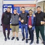 Ο Γιώργος μαζί με φίλους στη Ρόδο - 26 Απριλίου 2021 Φωτογραφία: miltos_diamantopoulos IG