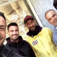 Ο Γιώργος μαζί με φίλους στη Ρόδο - 26 Απριλίου 2021 Φωτογραφία: official_danos_ga IG