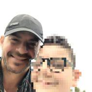 Ο Γιώργος μαζί με φαν στη Ρόδο - 28 Απριλίου 2021 Φωτογραφία: pattasgiannis2012 IG